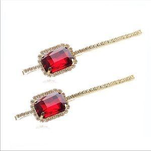 """Gorgeous sparkling hair pins 3.5"""""""
